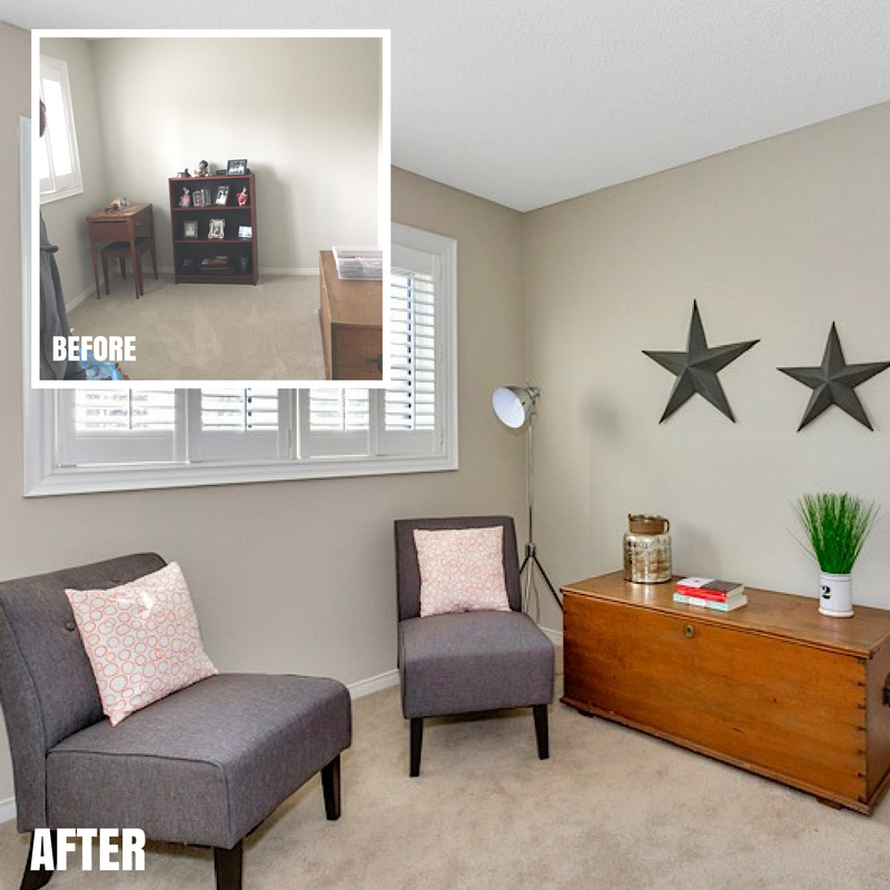 Bridgewater reading nook-before-after